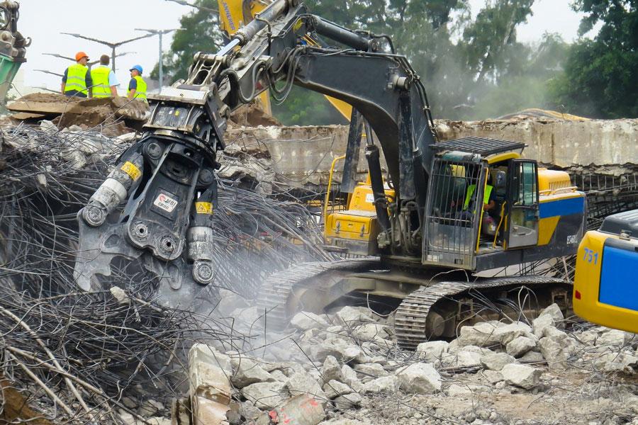 Smaltimento rifiuti da demolizioni